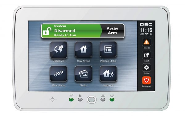 Powerseries Touchscreen_NEW-Ready-to-Arm_C